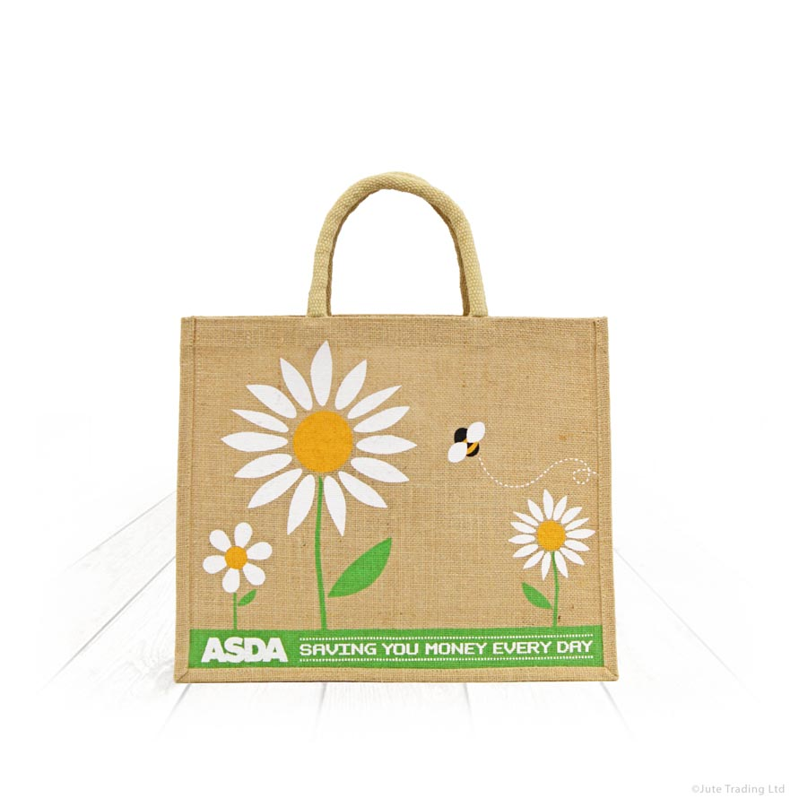 Asda Jute Shopping Bags