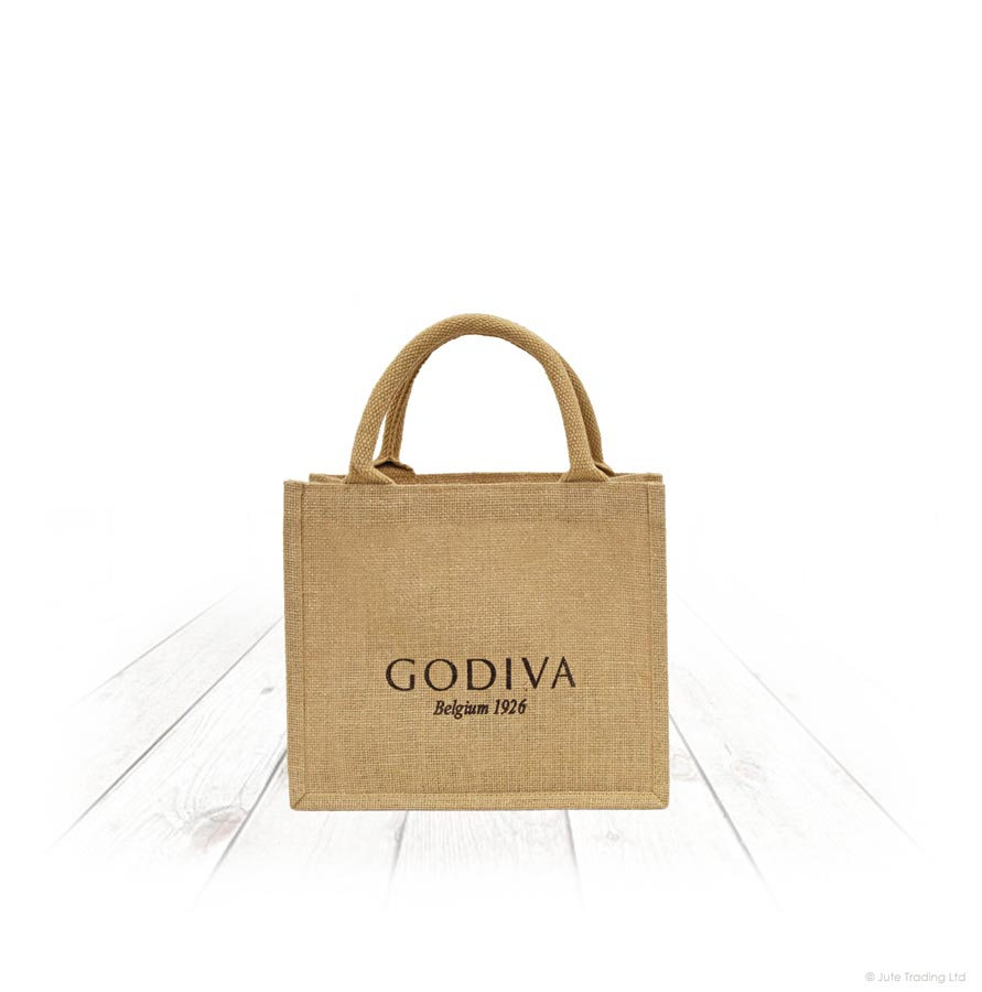 Small Lurex Jute Gift Bag
