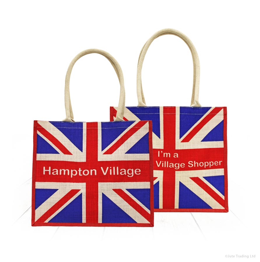 Union Jack Printed Bag