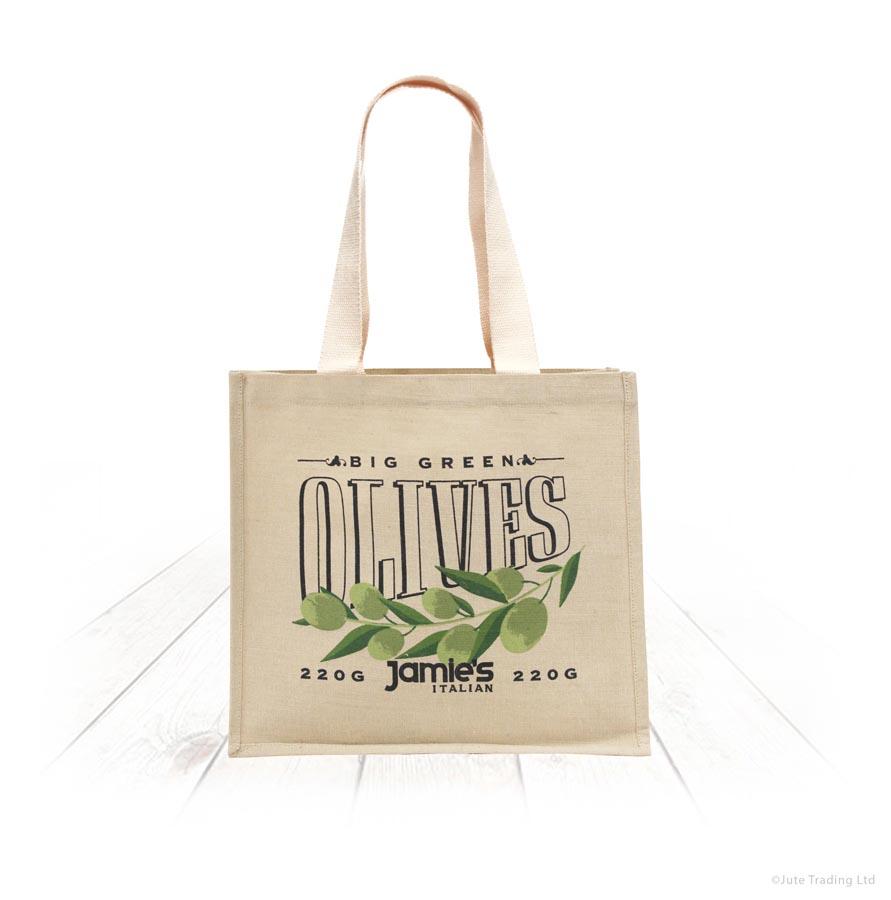 Jutton Bag with Webbing Handles