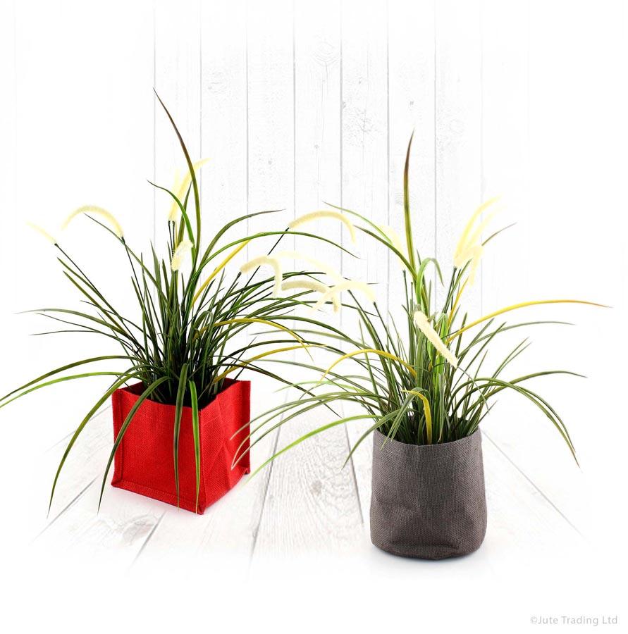 Jute Plant Pots