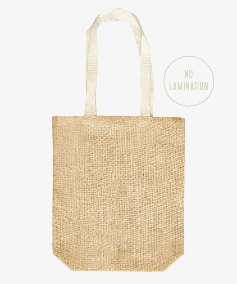 non laminated jute bag