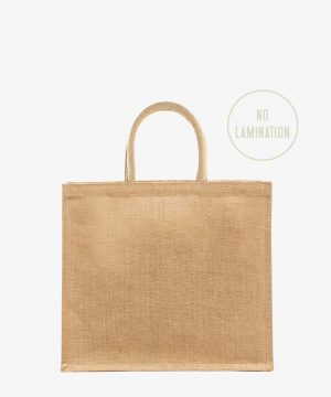 Stiffened Jute Bag